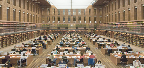 Image Saxon State and University Library